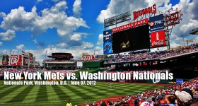 New York Mets vs. Washington Nationals | June 07, 2012